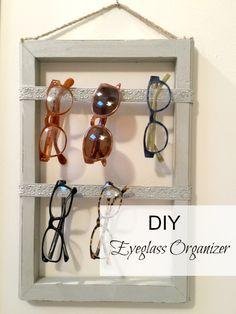 homeroad: The Best Way to Organize Eyeglasses Diy Storage, Diy Organization, Organizing Ideas, Diy Dog Fence, Sunglasses Storage, Sunglasses Holder, Muebles Home, Organizar Closet, Diy Wood Projects