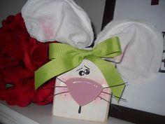 Block Head Bunny (tutorial), Easter & Spring Crafts