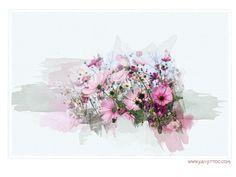 Watercolor effect in PaintShop Pro (PSP) TUTORIAL