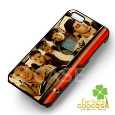 1D one direction in a car -end for iPhone 4/4S/5/5S/5C/6/ 6+,samsung S3/S4/S5/S6 Regular/S6 Edge,samsung note 3/4