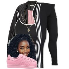 A fashion look from November 2016 featuring shirt top, H&M and adidas. Browse and shop related looks. Lit Outfits, Cute Teen Outfits, Dope Outfits, Matching Outfits, Casual Outfits, Fashion Outfits, Womens Fashion, School Outfits, Fall Outfits