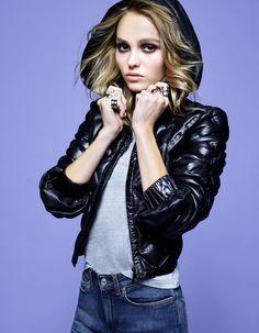 Lily-Rose Depp by Karl Lagerfeld for Elle France October 2016