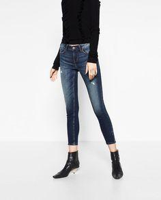 ZARA - 女士 - 中腰紧身牛仔裤,8228/226,¥ 299.00