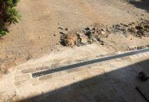 ACO Rinne – befahrbare Entwässerungsrinne selber verlegt