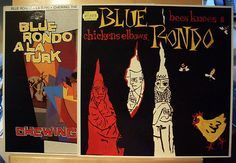 BLUE RONDO A LA TURK - 2xLP - Chewing the Fat + Bee Knees & C. - near mint - nm
