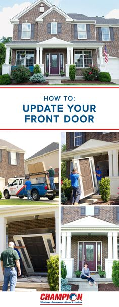 Summer is the perfect occasion for a curb appeal refresh! Thanks to Champion Home Exteriors, giving your front door an update has never been easier. With help from their impressive selection of hand-crafted door options and inserts made from the industry's best glass, you can find the perfect fit for your home. And with a variety of styles, energy-efficient products, and unique options, your house is sure to be the star of the neighborhood.