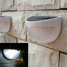 détecteur automatique alimenté lampe conduit jardin extérieur de la lumière solaire solaire activé conduit la lumière (blanc) de 4201897 2016 à €32.33