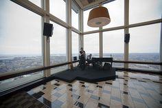 Top of the Hub Jazz Lunch Photo John Dill http://www.flickr.com/photos/gobikey/