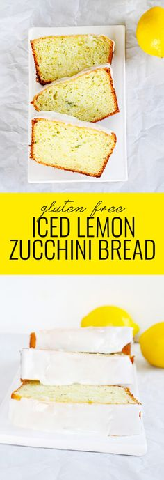 Get this tested, easy-to-follow recipe for iced gluten free lemon zucchini bread—a lemony, sweet quick bread packed with summer's favorite vegetable!