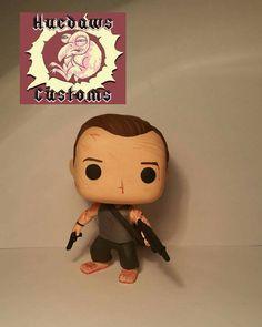 Custom Funko Pop John McClane Die Hard by HuedawsCustoms on Etsy