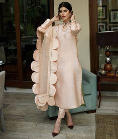 Shirt & Dupatta Cotton Net Multi colour hand embroidery Dry clean only Trouser Sold Separately Pakistani Fashion Party Wear, Pakistani Dresses Casual, Pakistani Dress Design, Dress Indian Style, Indian Fashion Dresses, Indian Outfits, Stylish Dresses For Girls, Stylish Dress Designs, Girls Dresses