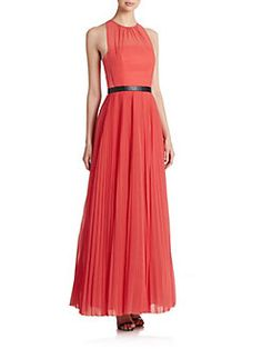 ABS - Mixed-Media Overlay Gown