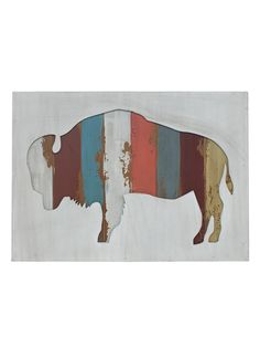 Bison Wall Decor by Three Hands at Gilt