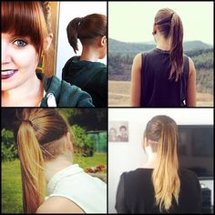 long hair and undercut!  (i want to try this.)
