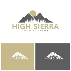 """High Sierra Info Systems - Design a logo for an Information """"Wizard"""" We provide information systems and integrations, data mining, and consulting to small and mid-sized businesses in nor..."""