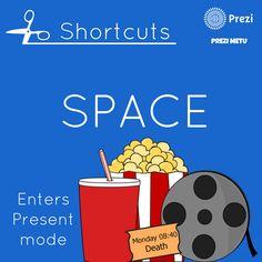 Prezi shortcuts by Prezi METU