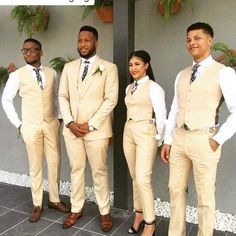 I have a groomsmaid that hates wearing dresses! Where can I buy/rent matching suit pieces for men and women? Best Man Outfit Wedding, Best Man Wedding, Tuxedo Wedding, Plan My Wedding, Wedding Suits, Wedding Ideas, Wedding Invitation Trends, Grooms Party, Groomsmen Outfits