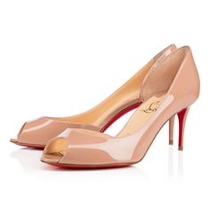 5b51f185ef99 Demi You 70 Nude Patent Leather - Women Shoes - Christian Louboutin