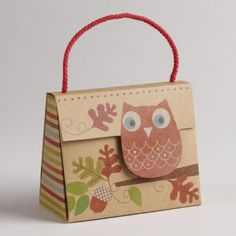 One of my favorite discoveries at WorldMarket.com: Owl Kraft Candy Purse