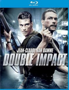 Available in: Blu-ray.Jean-Claude Van Damme proves that two cracked heads are better than one in Double Impact. Van Damme plays twins Chad and Alex, Top Movies, Great Movies, Double Impact, Claude Van Damme, Audio Latino, Streaming Movies, Action Movies, Movies Online, Warriors