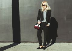 Wearing a suit-esque look for a woman can be hard to pull off. I happen to love the androgynous look but there are some great ways to switch it up to make your look still have touches of feminism. ...