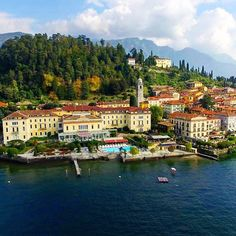 This is Bellagio in Lake Como, such a cute town!   #italy #Travel #lakecomoville #beautifuldestinations