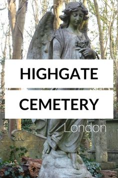 Want to discover a lesser known tourist attraction in London? Don't miss the incredibly fascinating Highgate Cemetery