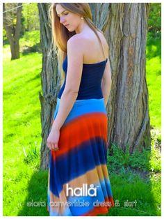 elora convertible dress & skirt