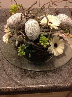 Bloemen voor Pasen