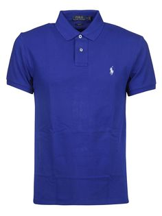 Ralph Lauren Chest Logo Polo Shirt In Heritage Royal Ralph Lauren Shop, Blue Chests, Blue Polo Shirts, Camisa Polo, Cool Shirts, Black Men, Casual Outfits, Menswear, Mens Fashion
