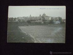 Tarjeta Postal Fotográfica. Requena. 8.- Vista General. (Parte antigua). Valencia. Años 20. - Foto 1
