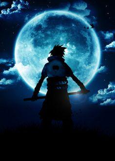 Blue Moon Sasuke by anm diz Naruto Vs Sasuke, Fan Art Naruto, Sasuke Uchiha Shippuden, Manga Naruto, Naruto Shippuden Sasuke, Boruto, Madara Wallpaper, Naruto And Sasuke Wallpaper, Wallpaper Naruto Shippuden