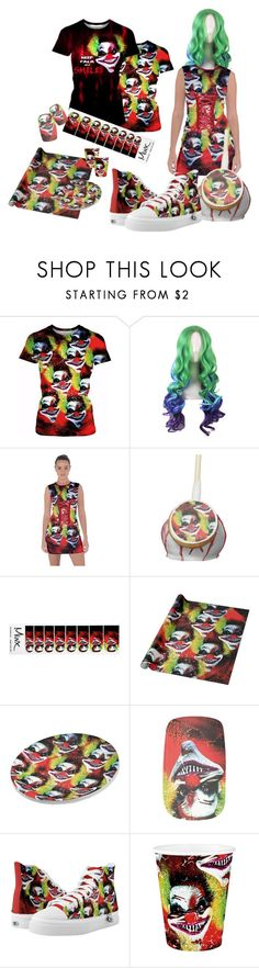 """""""cartoon hair contest - keep calm and smile"""" by cglightningart on Polyvore featuring Mode und MINX"""