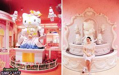 places to visit kawaii paradise #hello kitty #odaiba #japan #kawaii