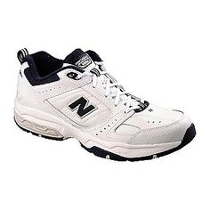 0a8c8f53395 New BalanceMen s 608V2 Athletic Shoe - Extended Sizes and Wide Avail -  White Navy for