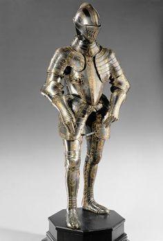 Armor set, Innsbruck, ca. 1582.