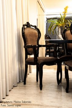 Detalhes sala de jantar! By Marina Salomão Arquitetura e Interiores