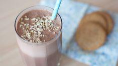 Batido de Avena y Chocolate (Bajo en Calorías)