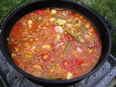 Dutch Oven Cowboy Stew