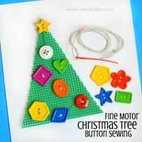 http://www.cuttingtinybites.com/2016/12/christmas-tree-fine-motor-button-sewing.html
