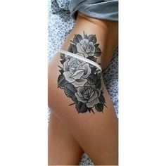 The attraction value of hip tattoos is what is making these tattoos increasingly popular among young girls and women, who want to flaunt a sexy and seductive look by bearing a tattoo at this location. - Part 7