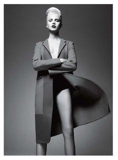 Jan Lehner Captures Sleek Outerwear for Vogue Hellas September 2012