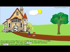 Little Red Riding Hood / Simple Past Tense English Activities For Kids, English Resources, English Lessons, English Reading, English Study, Learn English, Simple Past Tense, Simple Present Tense, Presente Simple