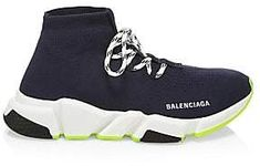 07d1c9073c26a Balenciaga Women s Lace-Up Speed Sock Sneakers