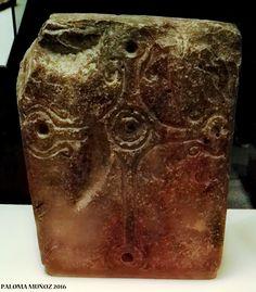 Lápida. 800-900 Inglaterra Piedra caliza. Grave 800-900 England Limestone