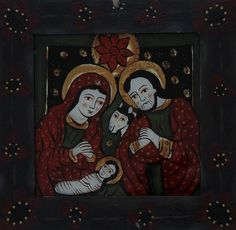 Christian Paintings, Sacred Art, Christmas Inspiration, Nativity, Glass, Child, Mirror, Toddler Girls, Christ