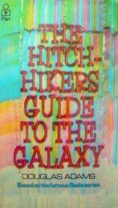 The Hitchhiker's Guide to the Galaxy original cover