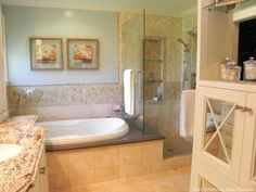 A Traditional Master Bath Retreat - The Design House Interior Design | The Design House Interior Design