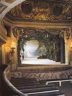 Théâtre de la reine Marie-Antoinette au Petit Trianon Giclee ( Theatre of Queen…