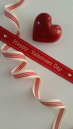 Our lovely Valentine's Day ribbon has arrived! Striped red/cream ribbon 12mm R6/m, Valentines Red/cream ribbon 20mm R9/m. To purchase drop us a mail info@chicmyparty.co.za
